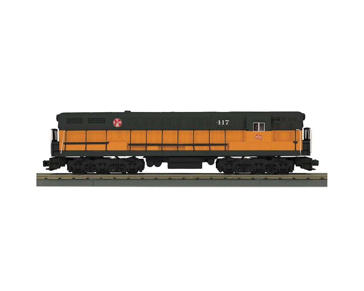 MTH Trains O FM Train Master w/PS3, MILW #417