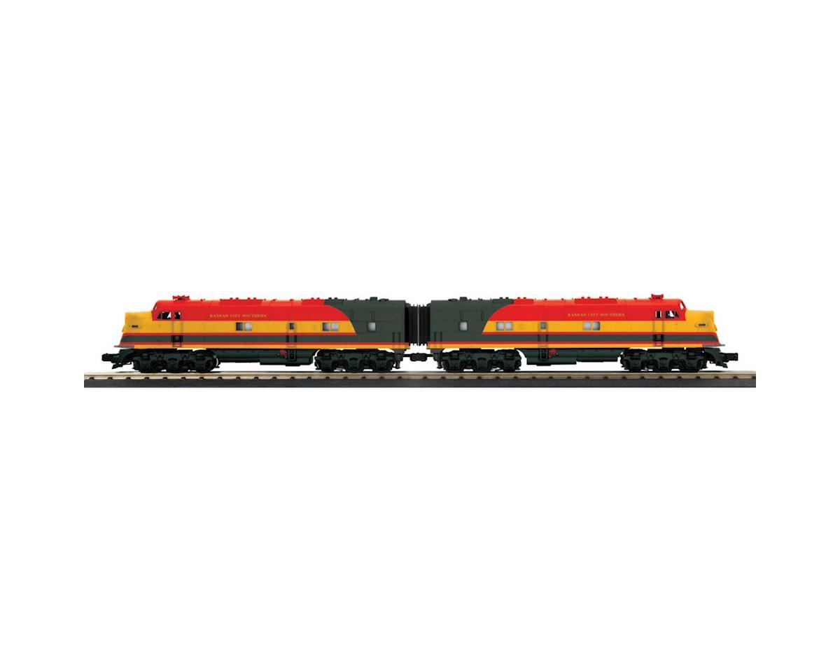 MTH Trains O-27 E3 A/A w/PS3, KCS #1