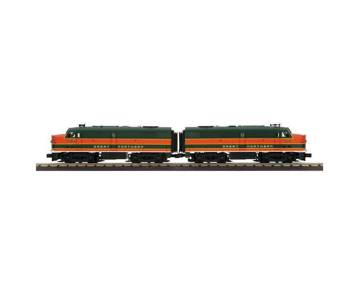 MTH Trains O-27 FA-2 A/A w/PS3, GN #279-A