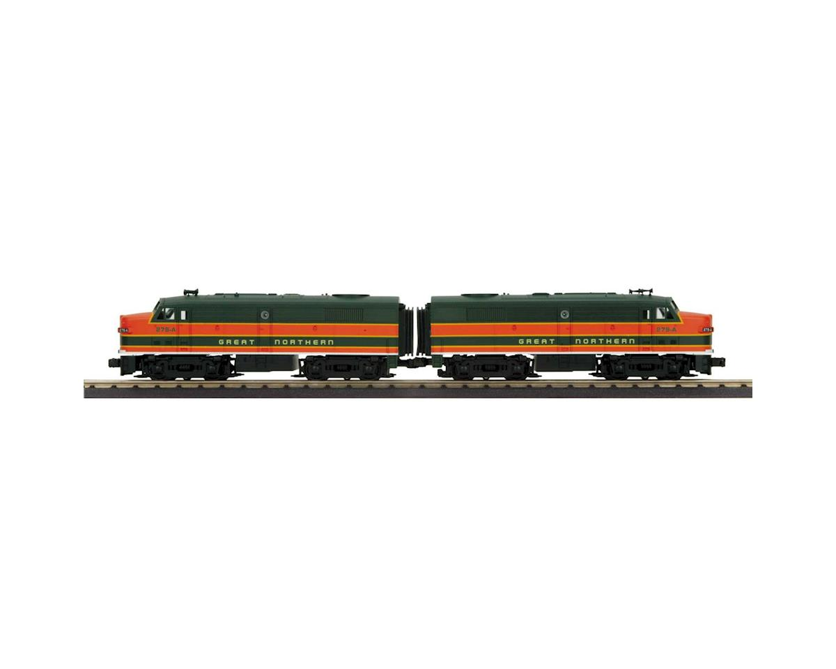 MTH Trains O-27 FA-2 A/A w/PS3, GN #279-A