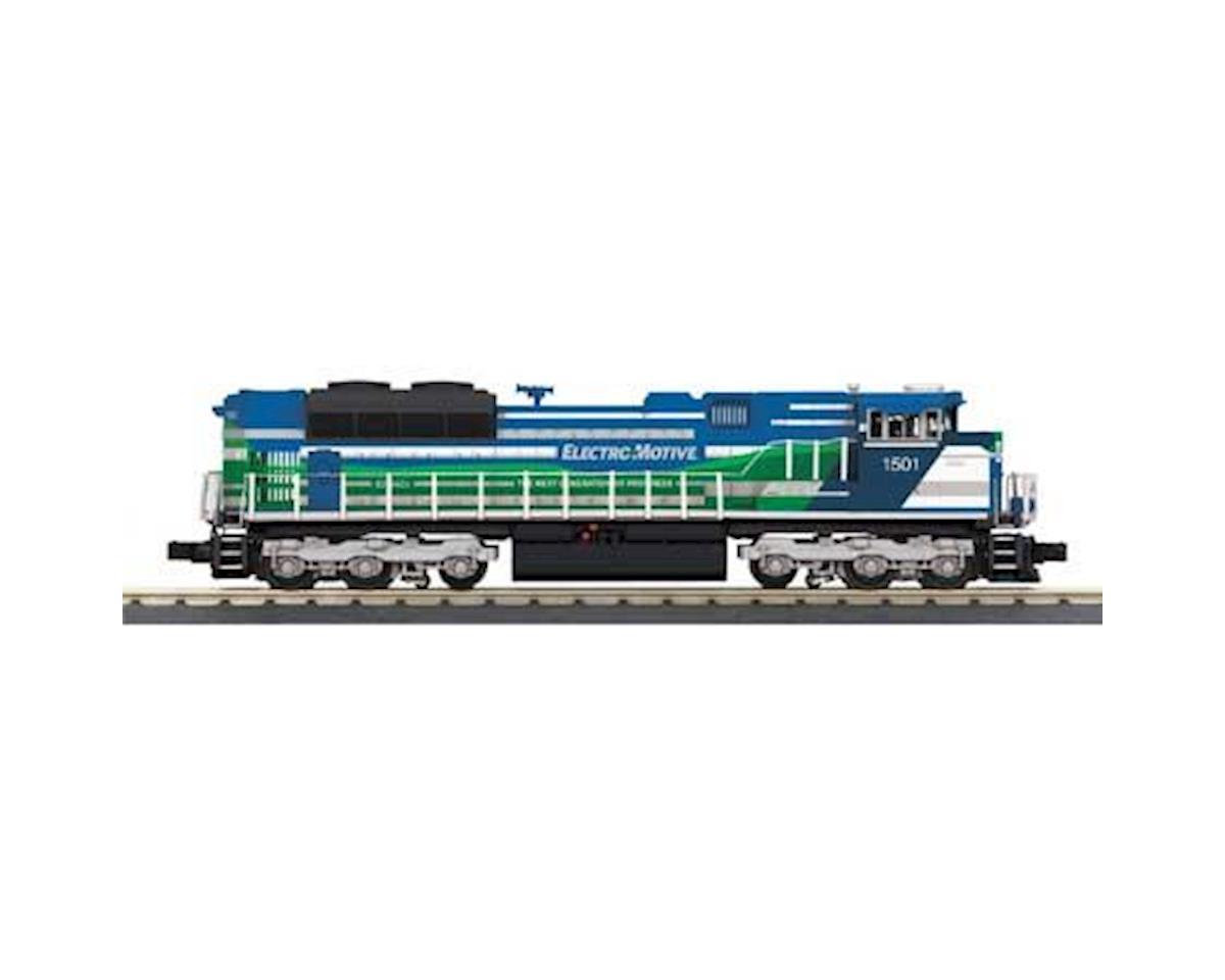 MTH Trains O-27 Imperial SD70ACe w/PS3, EMD Demo #1501