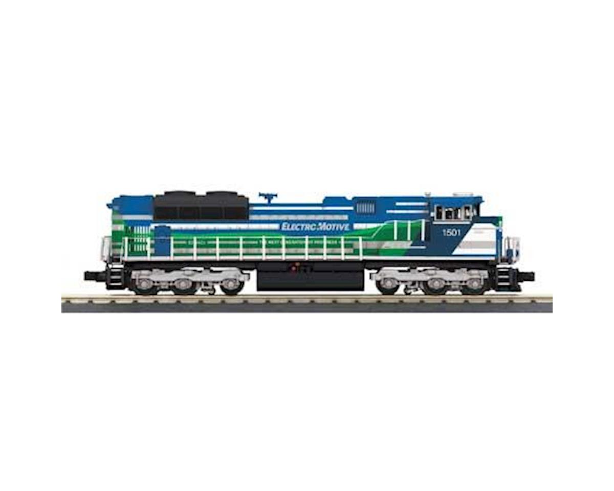 MTH Trains O-27 Imperial SD70ACe w/PS3, EMD Demo #1501