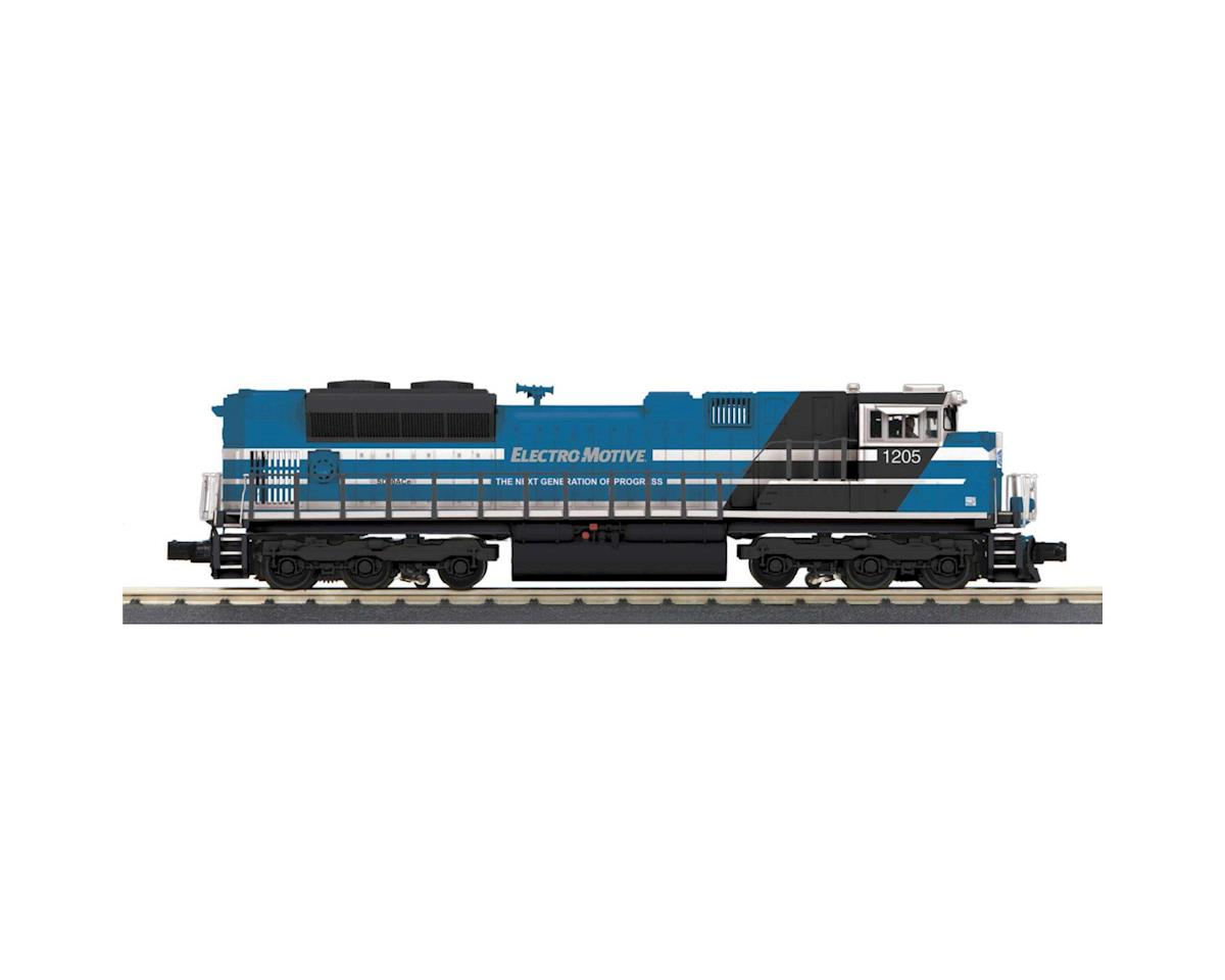 MTH Trains O-27 Imperial SD70ACe w/PS3, EMD Demo #1204