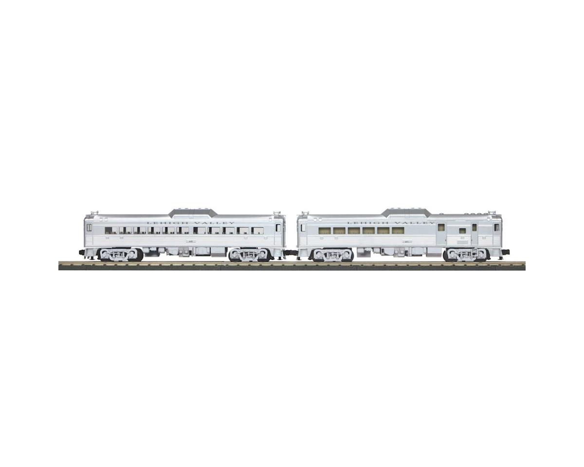MTH Trains O-27 RDC Budd Car Set w/PS3, LV #RDC 3