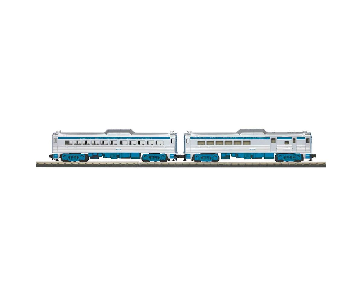 MTH Trains O-27 RDC Budd Car Add-On, RNRX #9197 (2)