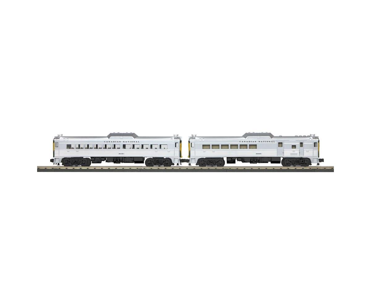 MTH Trains O-27 RDC Budd Car Add-On, CN #6107 (2)