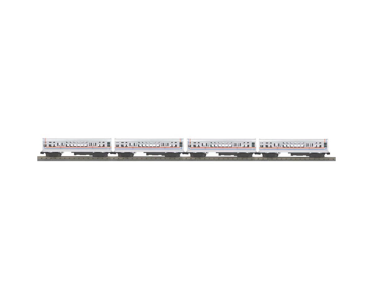 MTH Trains O-27 6000-Series L w/PS3, CTA/Bicentennial (4)