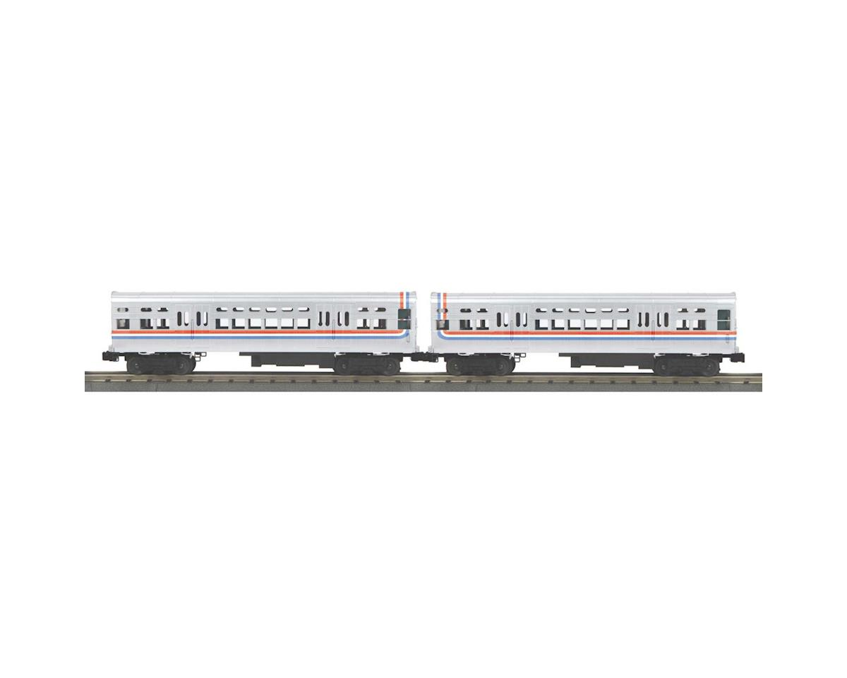 MTH Trains O-27 6000-Series L Dummy, CTA/Bicentennial (2)