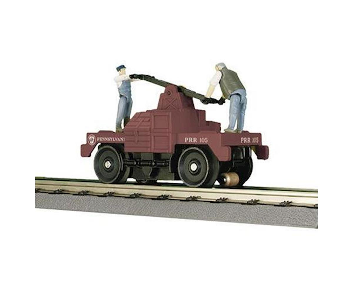 O-27 Operating Hand Car, PRR by MTH Trains