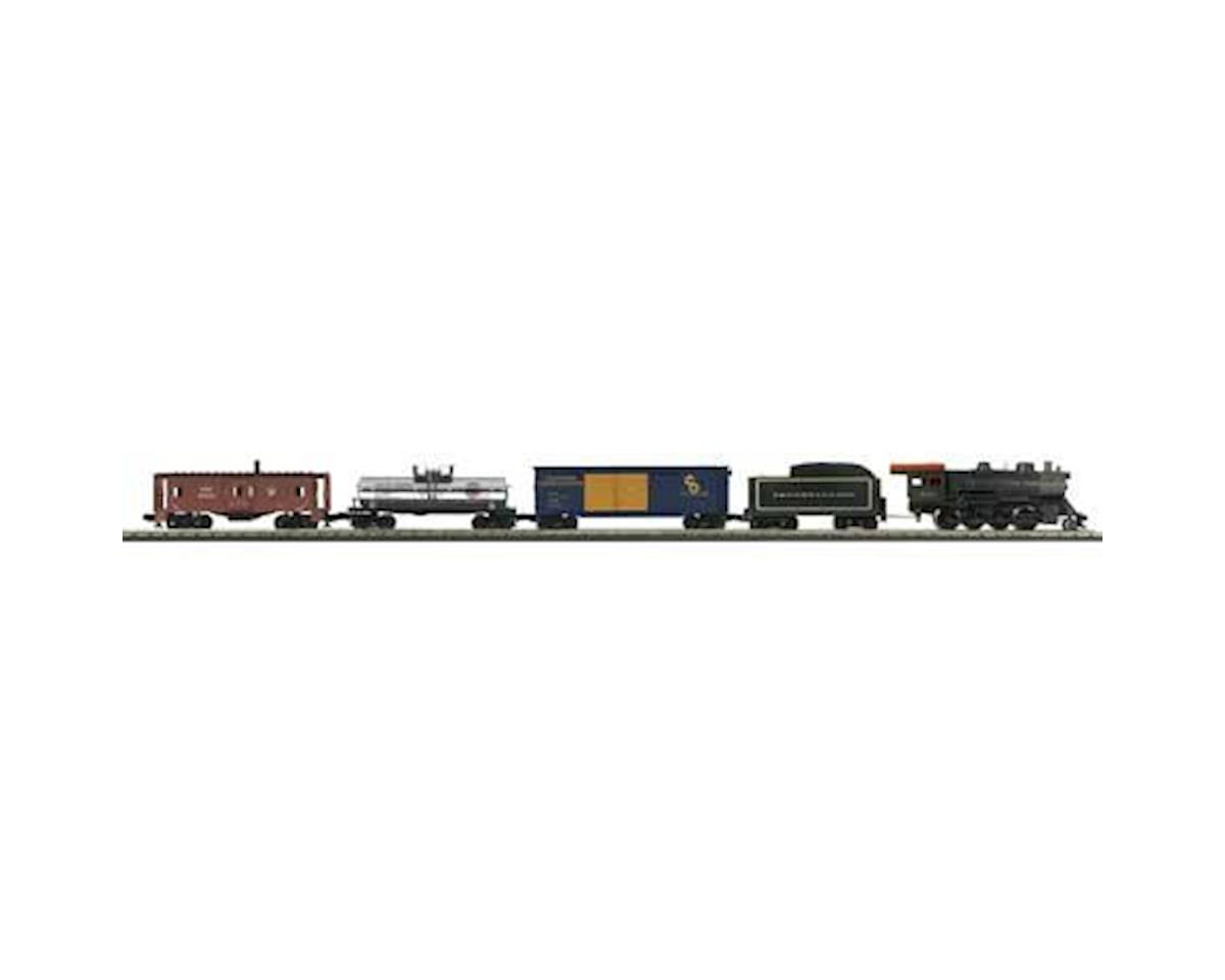 MTH Trains O-27 2-8-0 Freight Set w/PS3, PRR