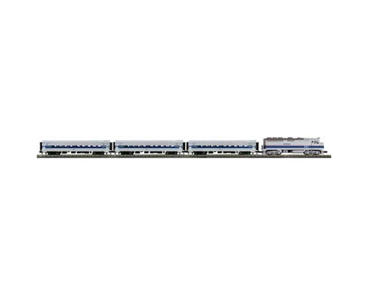 MTH Trains O-27 F40PH Passenger Set w/PS3, Amtrak