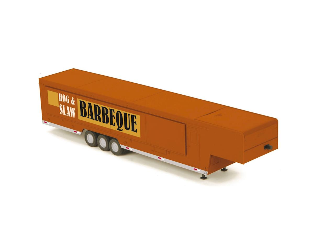 MTH Trains O Vendor Trailer, Billy Ray's Bar-B-Que