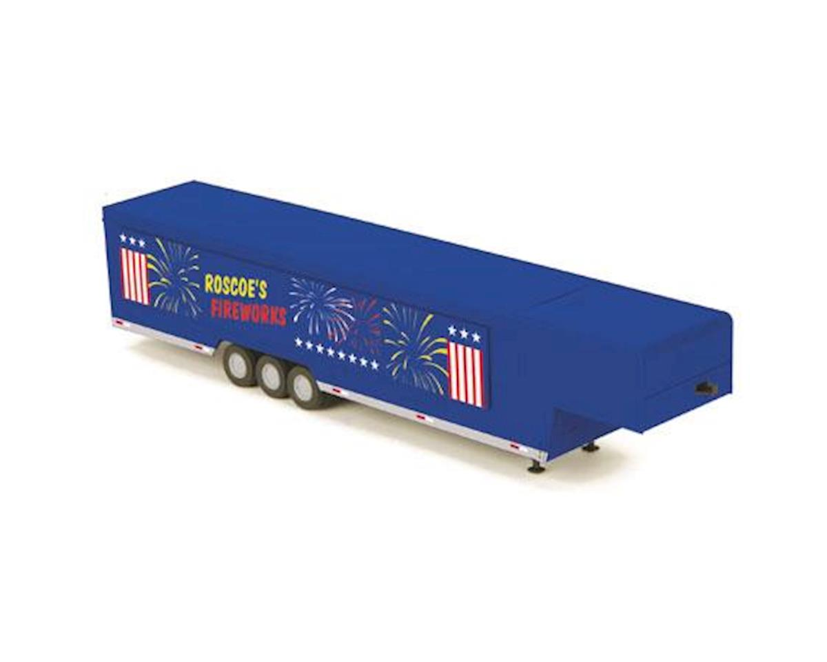 MTH Trains O Vendor Trailer, Roscoe's Fireworks