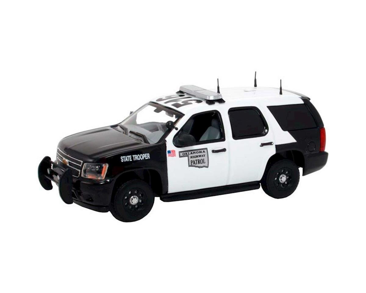 1:43 Die-cast Chevy Tahoe Police, Highway Patrol by MTH Trains