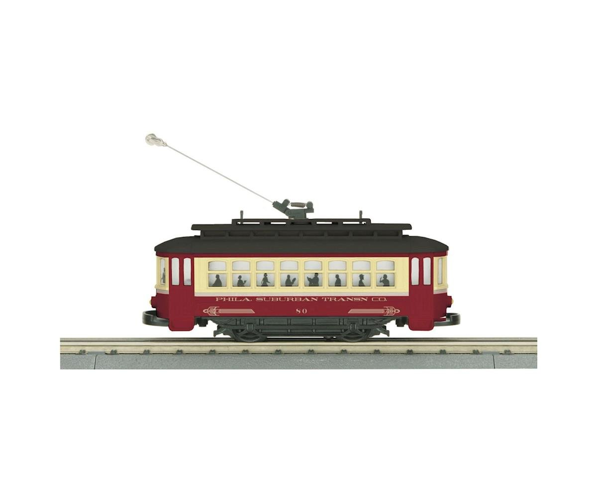 MTH Trains O-27 Bump-n-Go Trolley, Philadelphia
