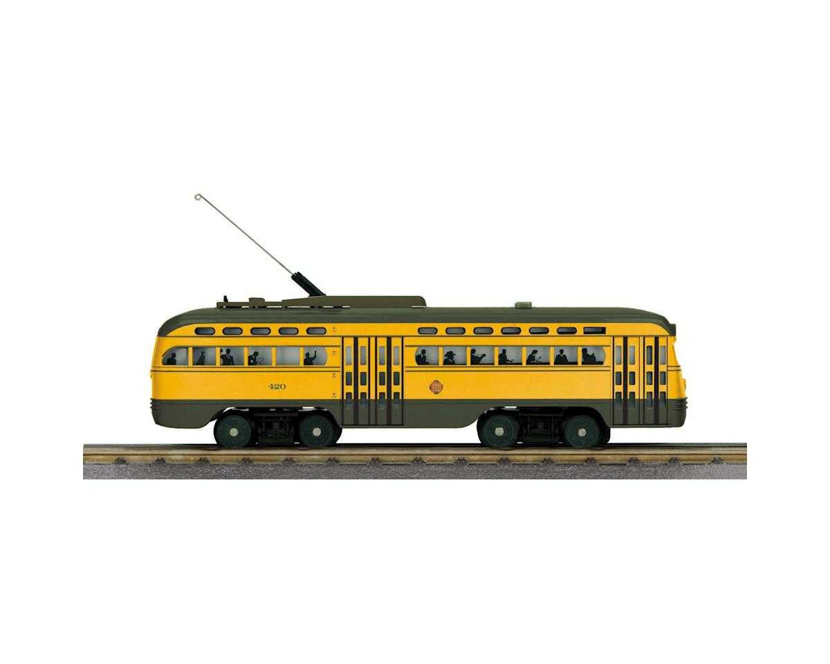 MTH Trains O-27 PCC Street Car w/PS3, Twin Cities #420