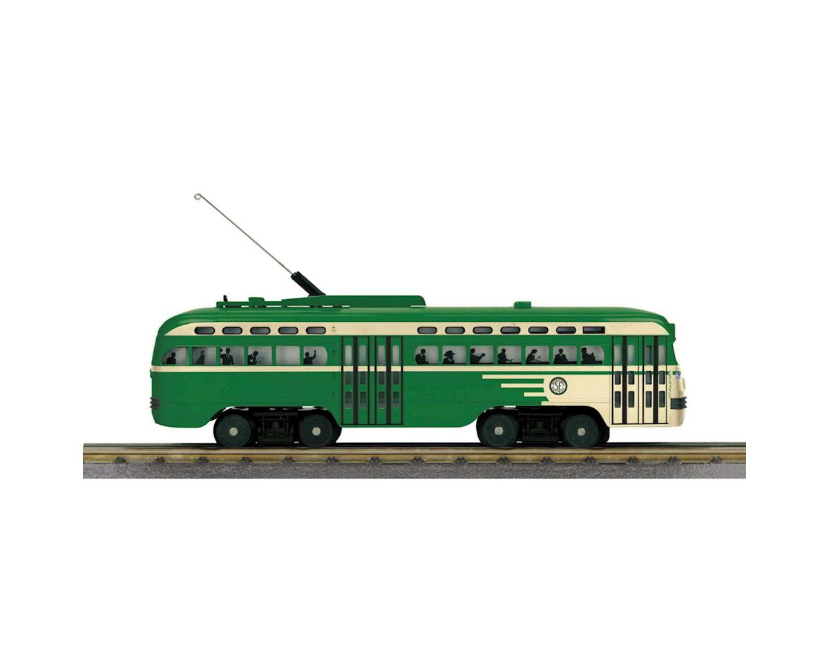 MTH Trains O-27 PCC Street Car w/PS3, San Francisco #1050