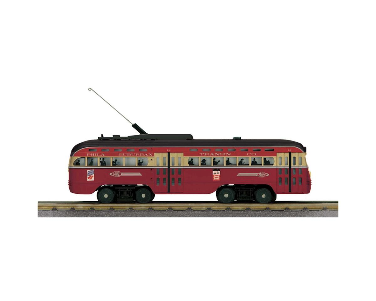 MTH Trains O-27 PCC Street Car w/PS3, PST #16