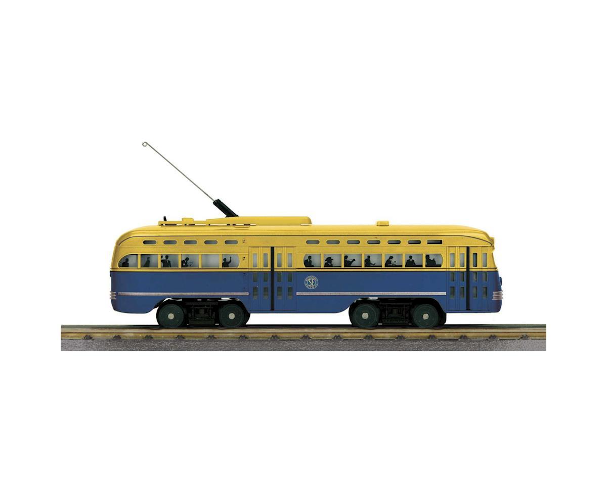 MTH Trains O-27 PCC Street Car w/PS3, San Francisco #1010