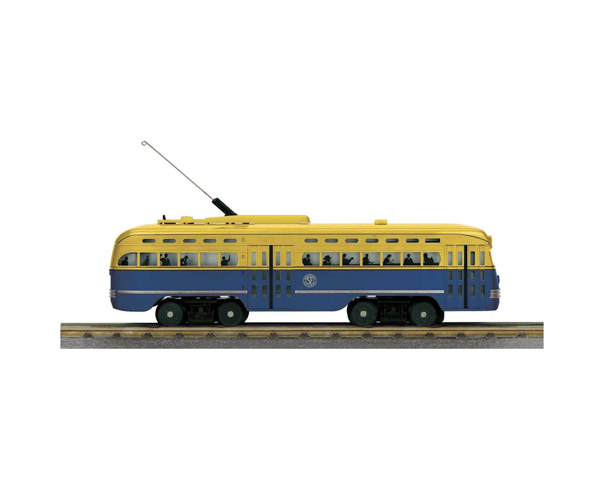 MTH Trains O-27 PCC Street Car w/PS3, San Francisco #1010