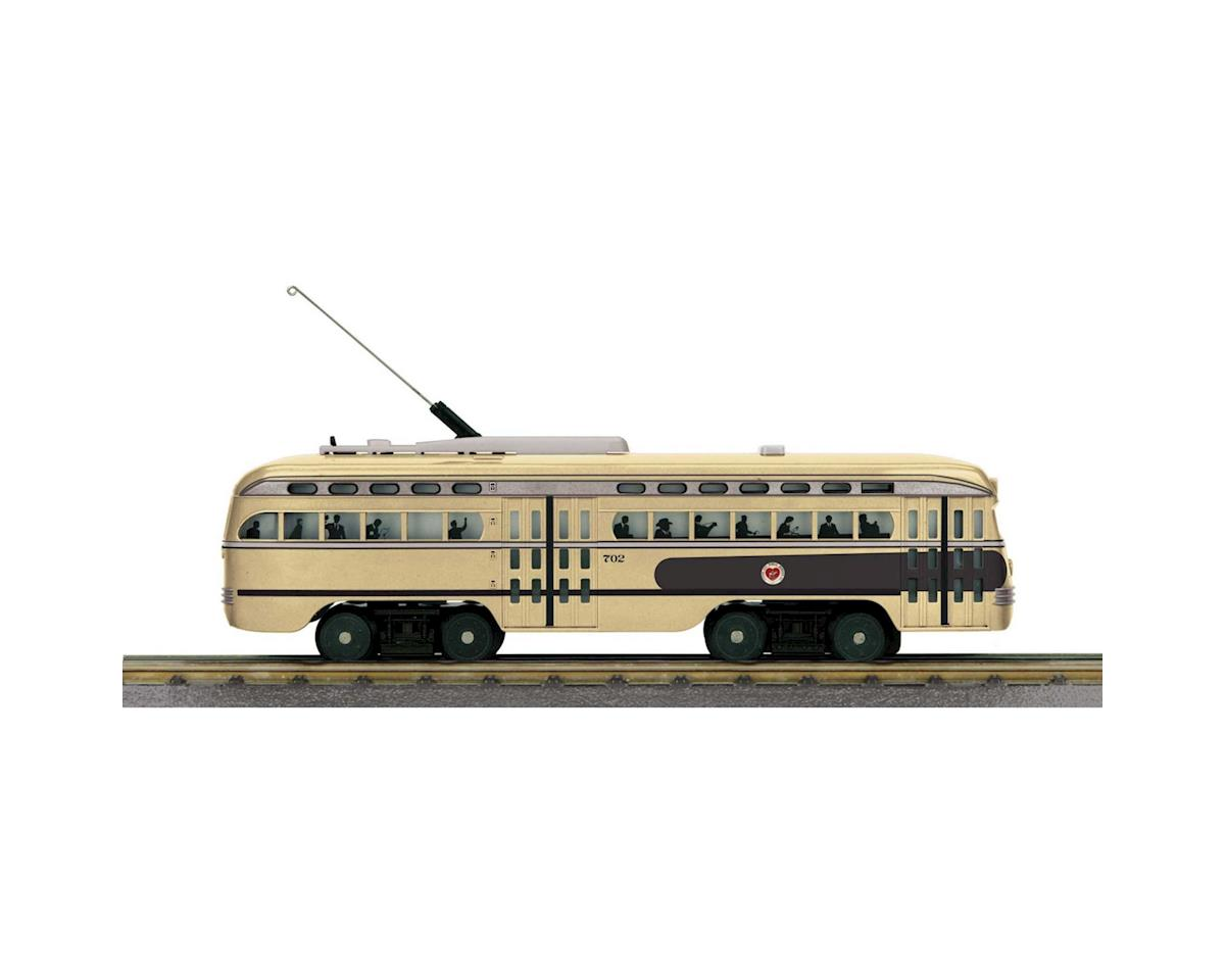 MTH Trains O-27 PCC Street Car w/PS3, KCPS #702