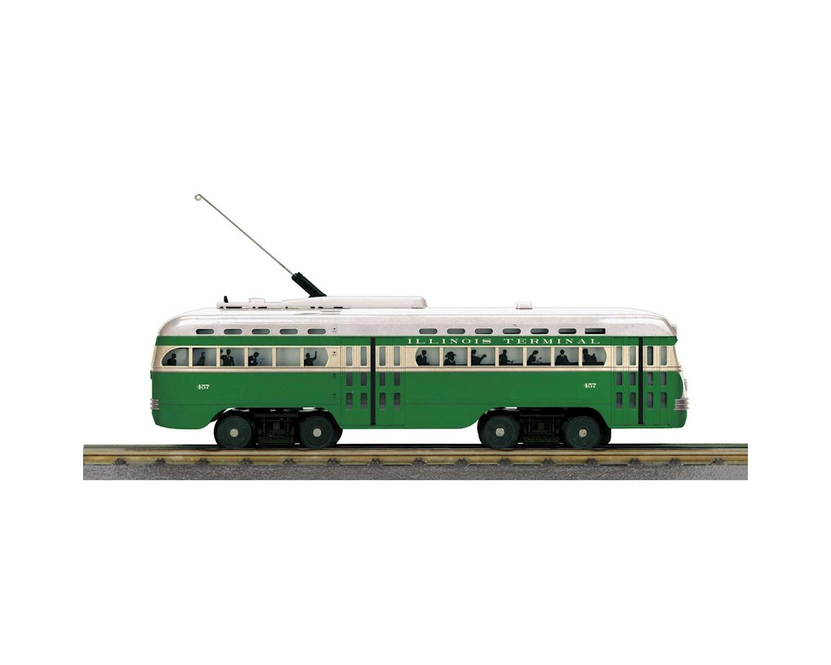 MTH Trains O-27 PCC Street Car w/PS3, IT #457