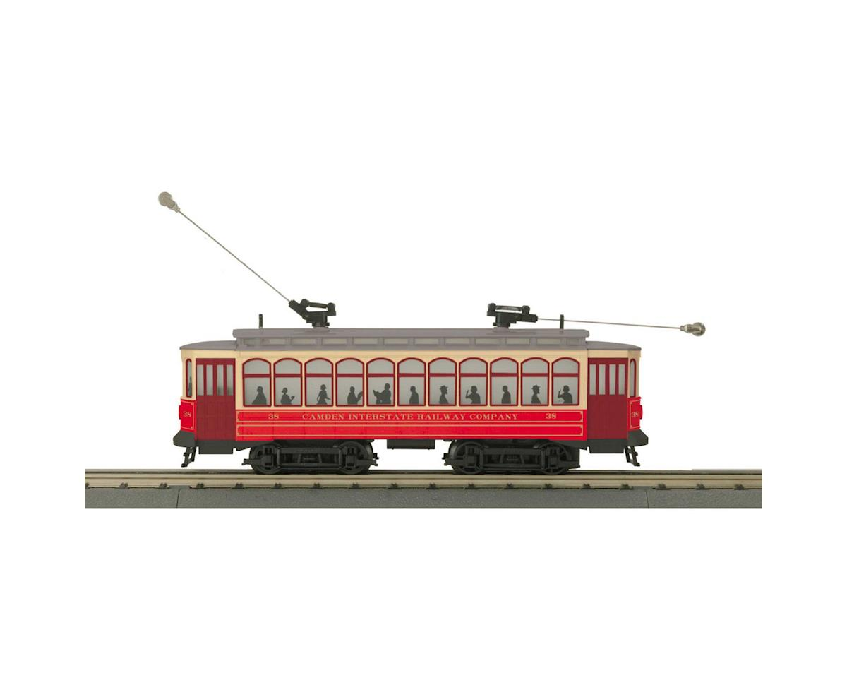 MTH Trains O-27 Brill Trolley w/PS3, Camden Interstate #38