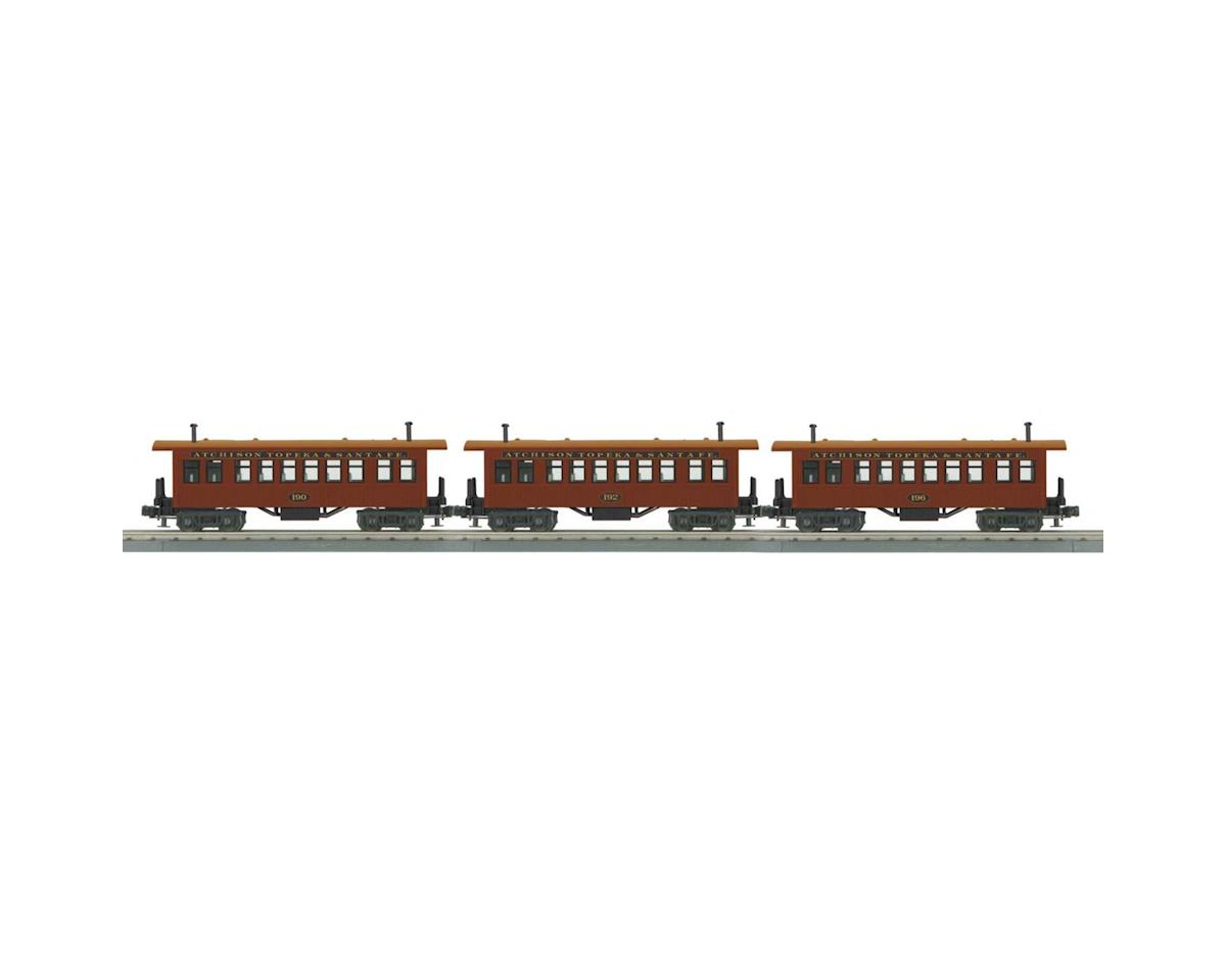 MTH Trains O-27 Overton Coach, SF #175 (3)