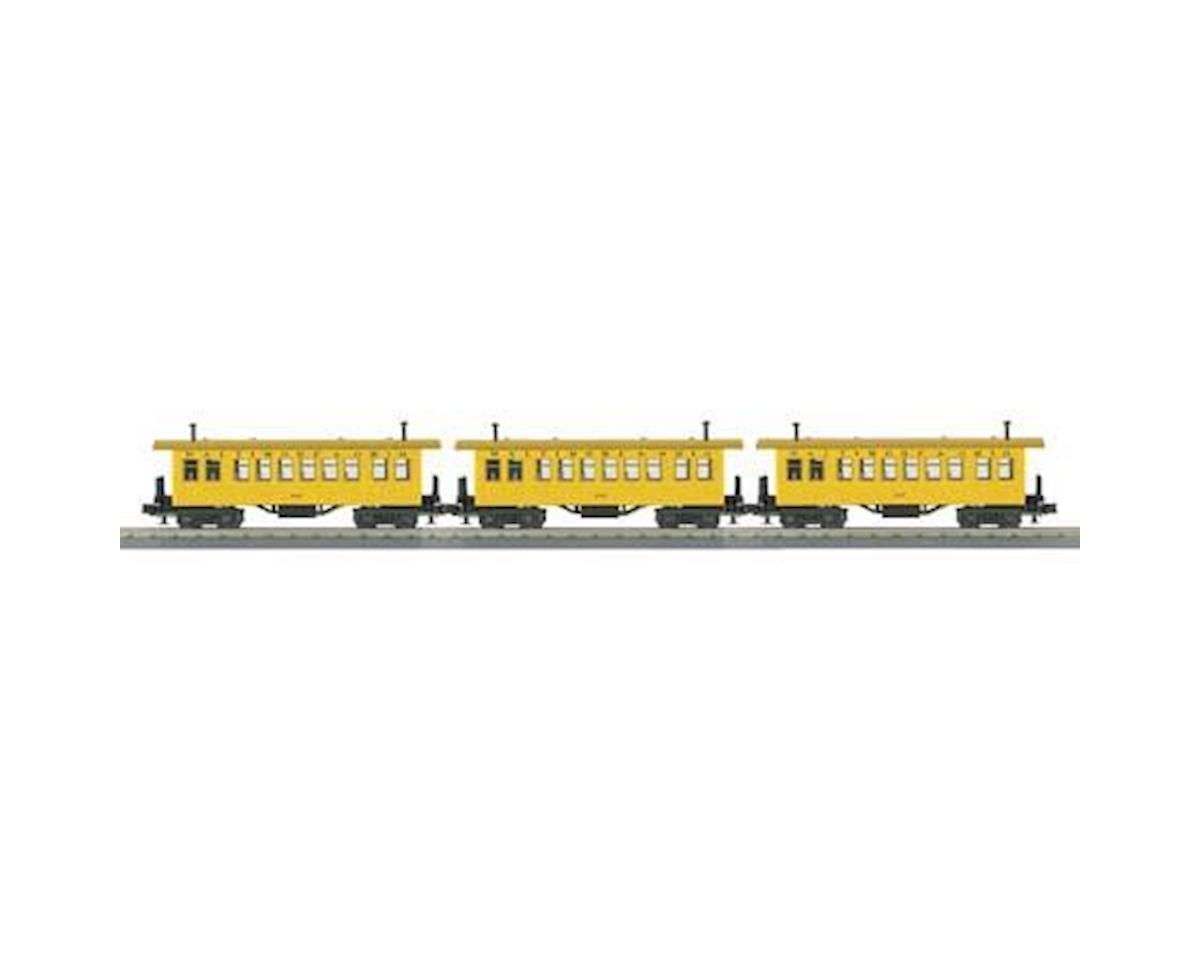 MTH Trains O-27 Overton Coach, B&O #105 (3)