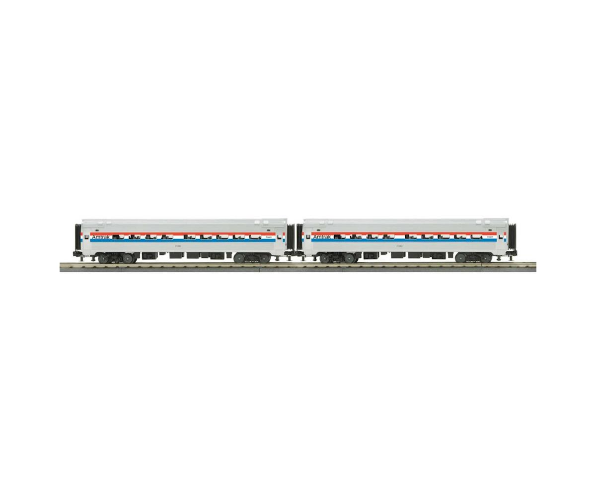 MTH Trains O-31 Amfleet Coach, Amtrak/Phase III (2)