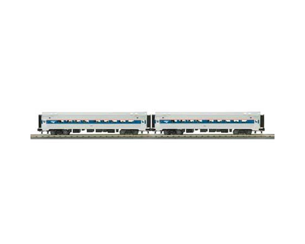 MTH Trains O-31 Amfleet Coach, Amtrak/Phase 4/6 (2)