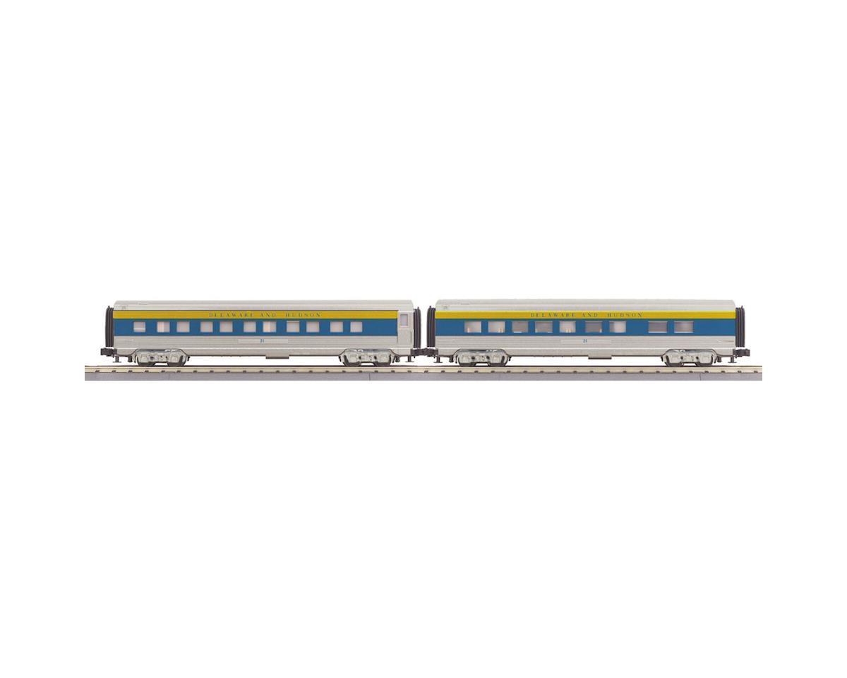 MTH Trains O-27 60' Streamline Sleeper/Diner, D&H
