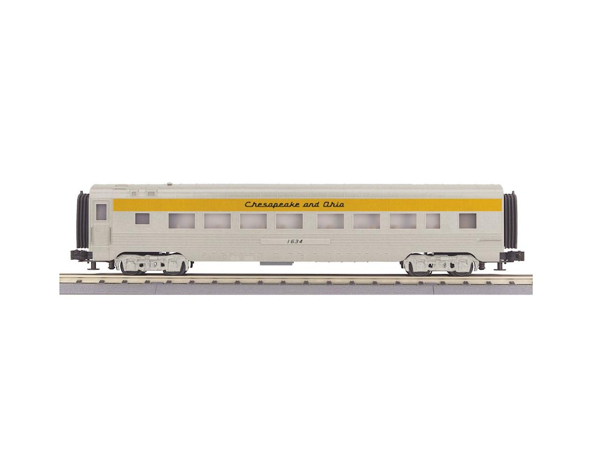 MTH Trains O-27 60' Streamline Coach, C&O