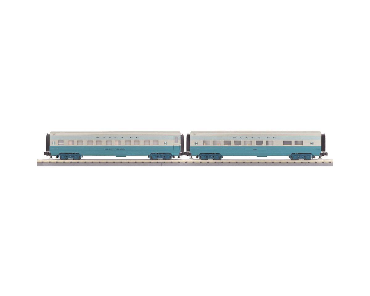 MTH Trains O-27 60' Streamline Sleeper/Diner, SF