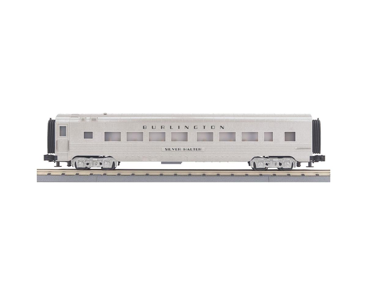 MTH Trains O-27 60' Streamline Coach, CB&Q
