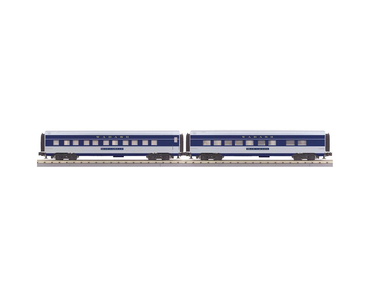 MTH Trains O-27 60' Streamline Sleeper/Diner, WAB