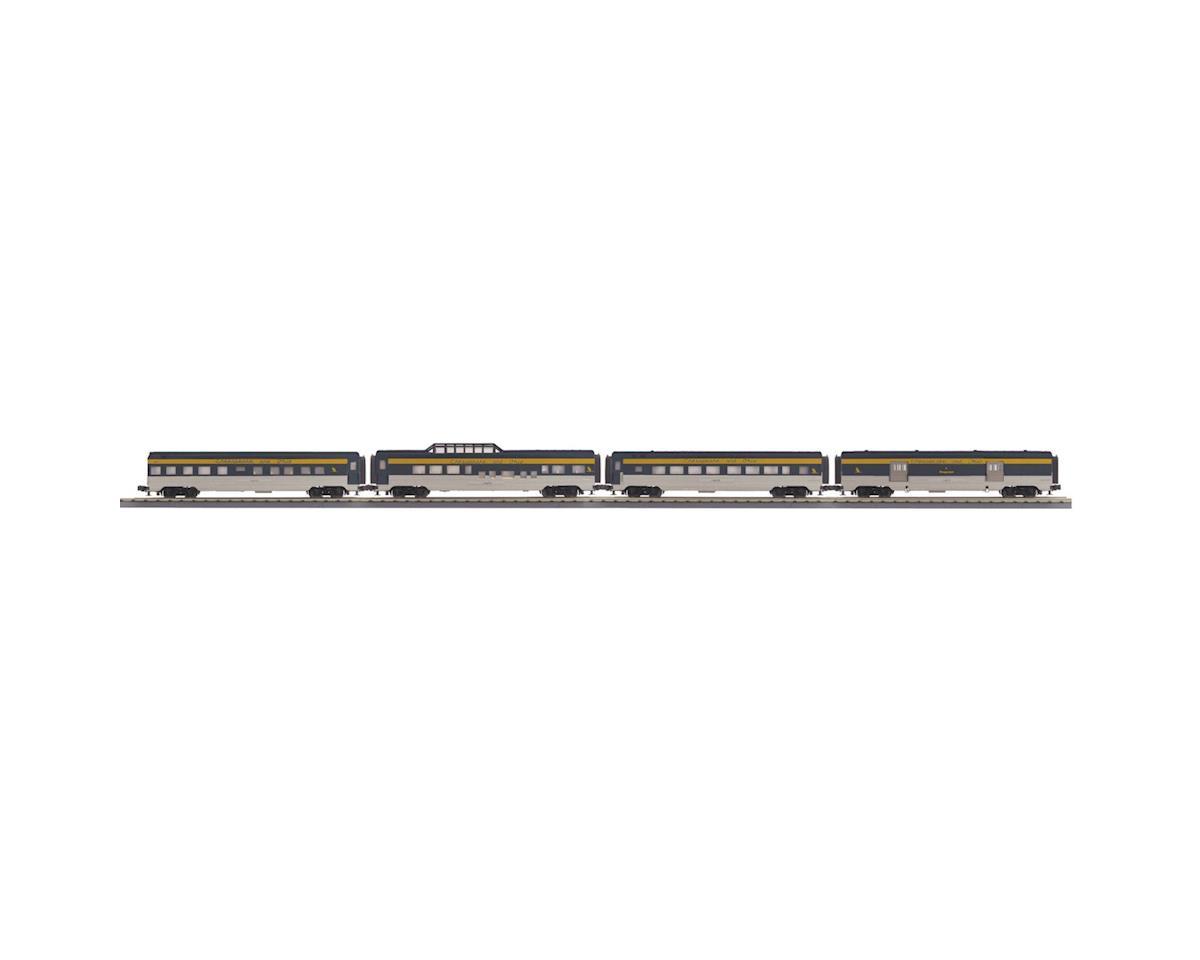 MTH Trains O-27 60' Streamline Passenger, C&O (4)