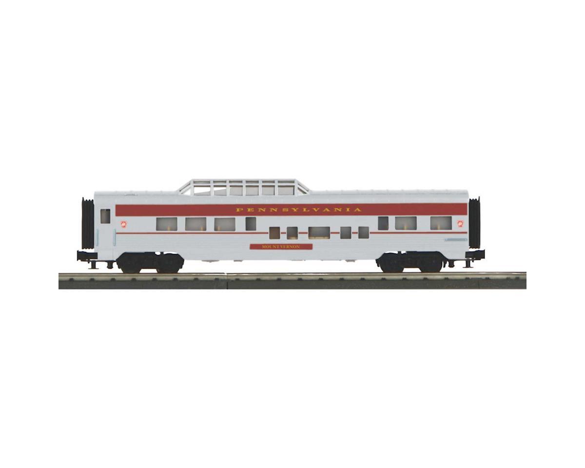 MTH Trains O-27 60' Streamlined Vista Dome, PRR