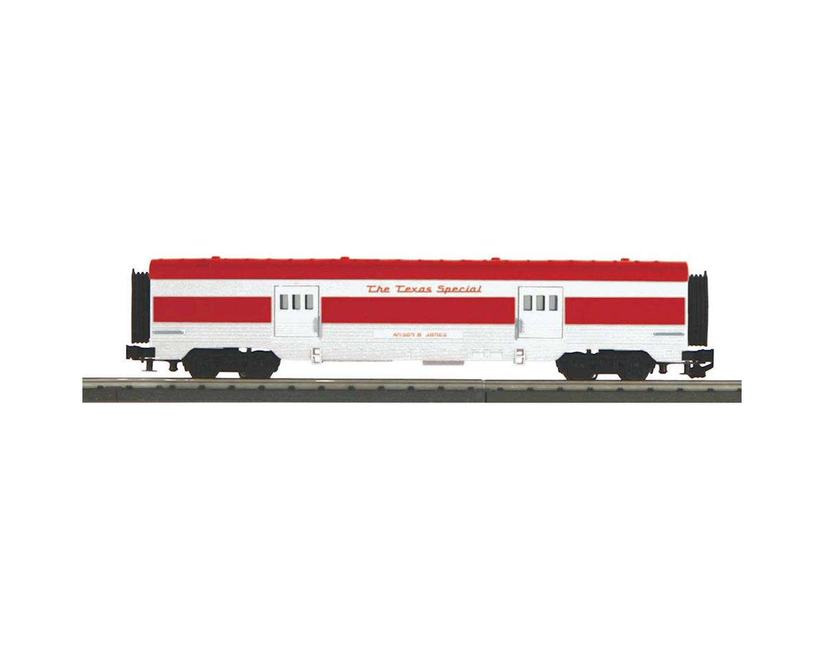 MTH Trains O-27 60' Streamlined BaggageCar, TXSPC