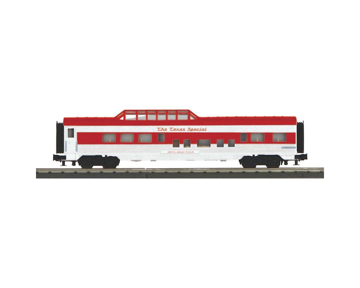 MTH Trains O-27 60' Streamlined Vista Dome, TXSPC