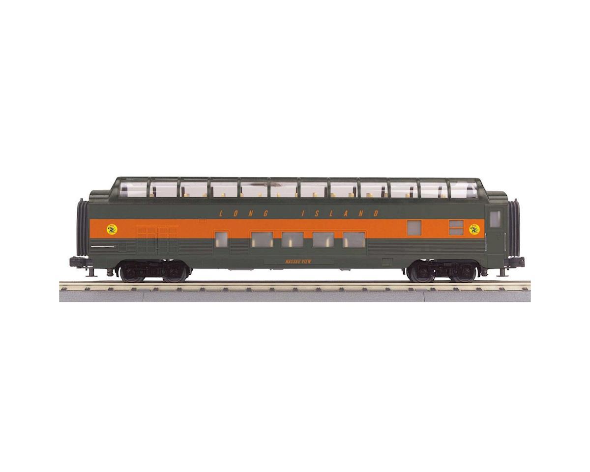 MTH Trains O-27 60' Streamline Full Vista, LIRR