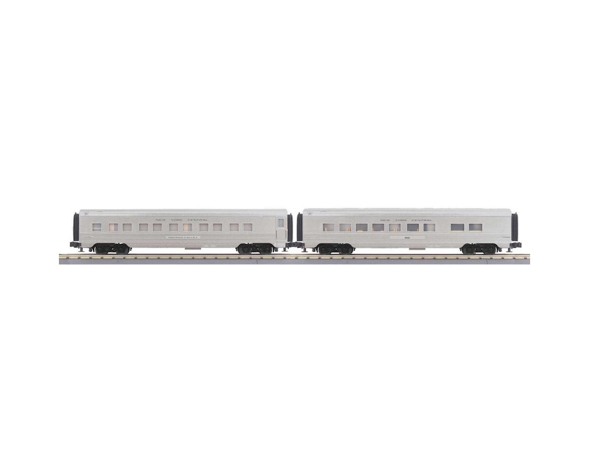 MTH Trains O-27 60' Streamline Sleeper/Diner, NYC