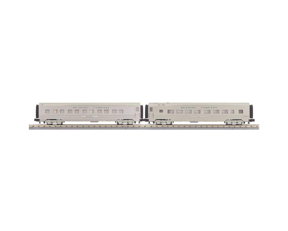 MTH Trains O-27 60' Streamline Sleeper/Diner, RDG