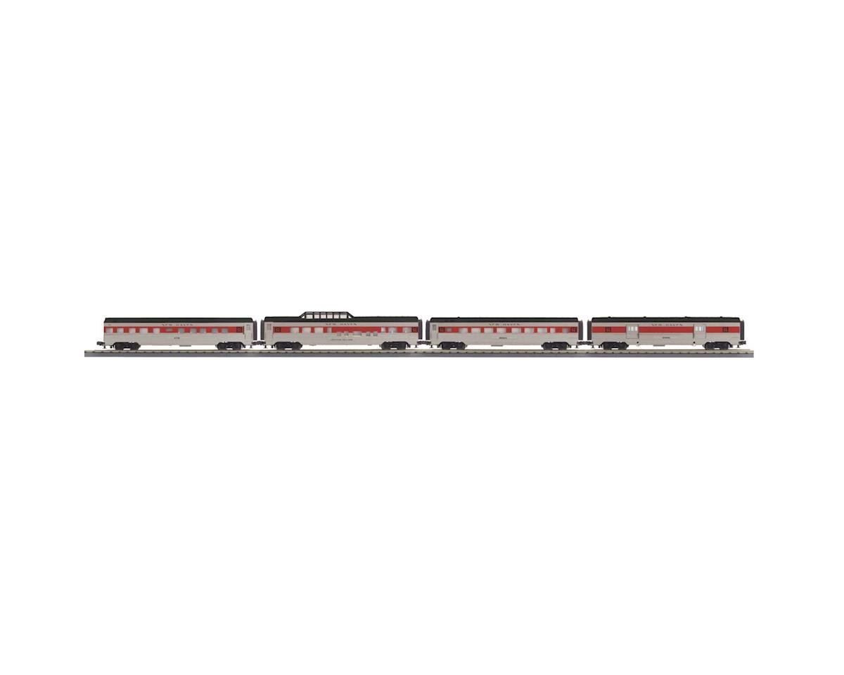 MTH Trains O-27 60' Streamline Passenger, NH (4)