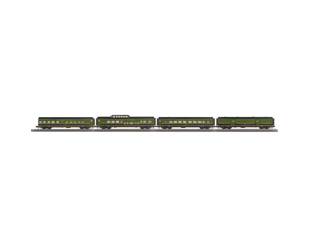 MTH Trains O-27 60' Streamline Passenger, CN (4)