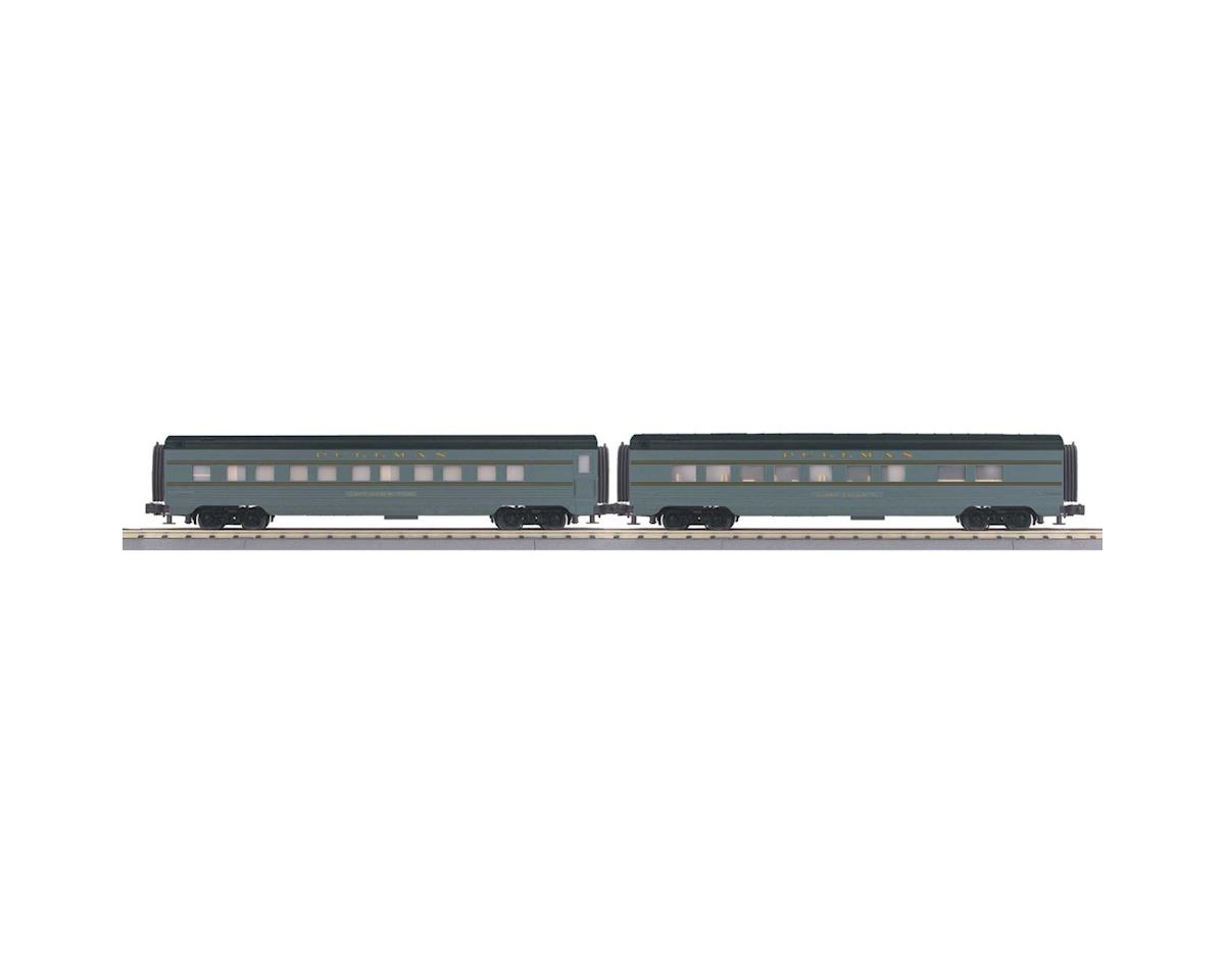 MTH Trains O-27 60' Streamline Sleeper/Diner, UP