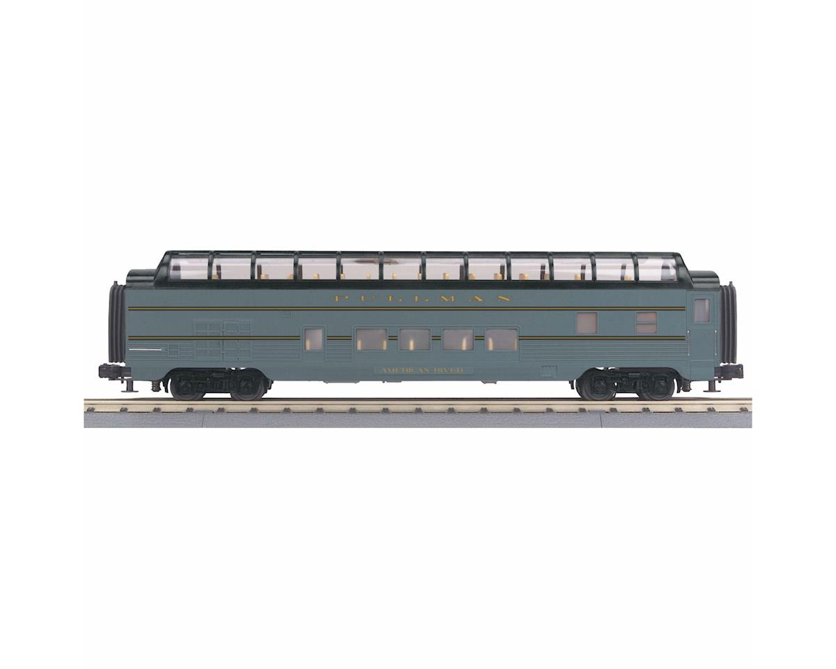 MTH Trains O-27 60' Streamline Full Vista Dome, UP