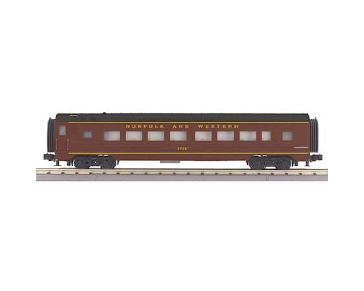 O-27 60' Streamline Coach, N&W by MTH Trains