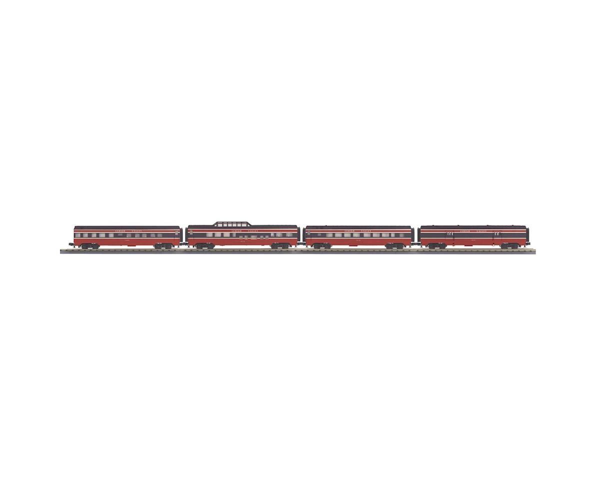 MTH Trains O-27 60' Streamline Passenger, LV (4)