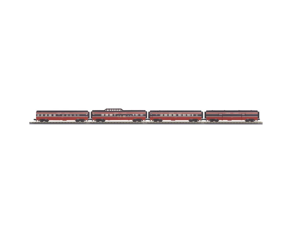 MTH Trains O-27 60' Streamline Passenger, LV (4)